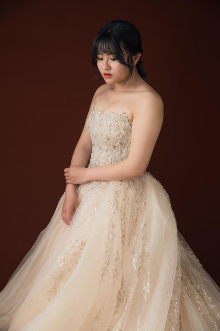 新竹法國巴黎 中大尺碼婚紗 10