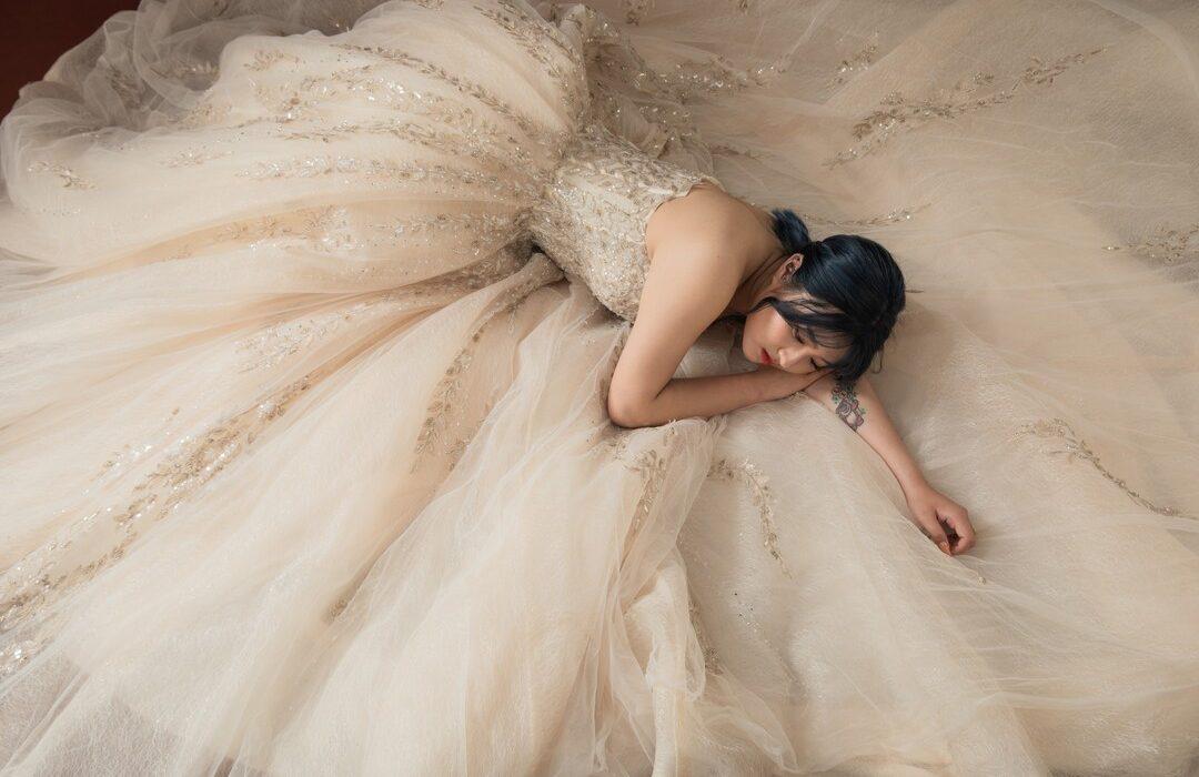 新竹法國巴黎 中大尺碼婚紗 11