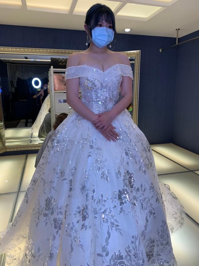 新竹法國巴黎 中大尺碼婚紗 2