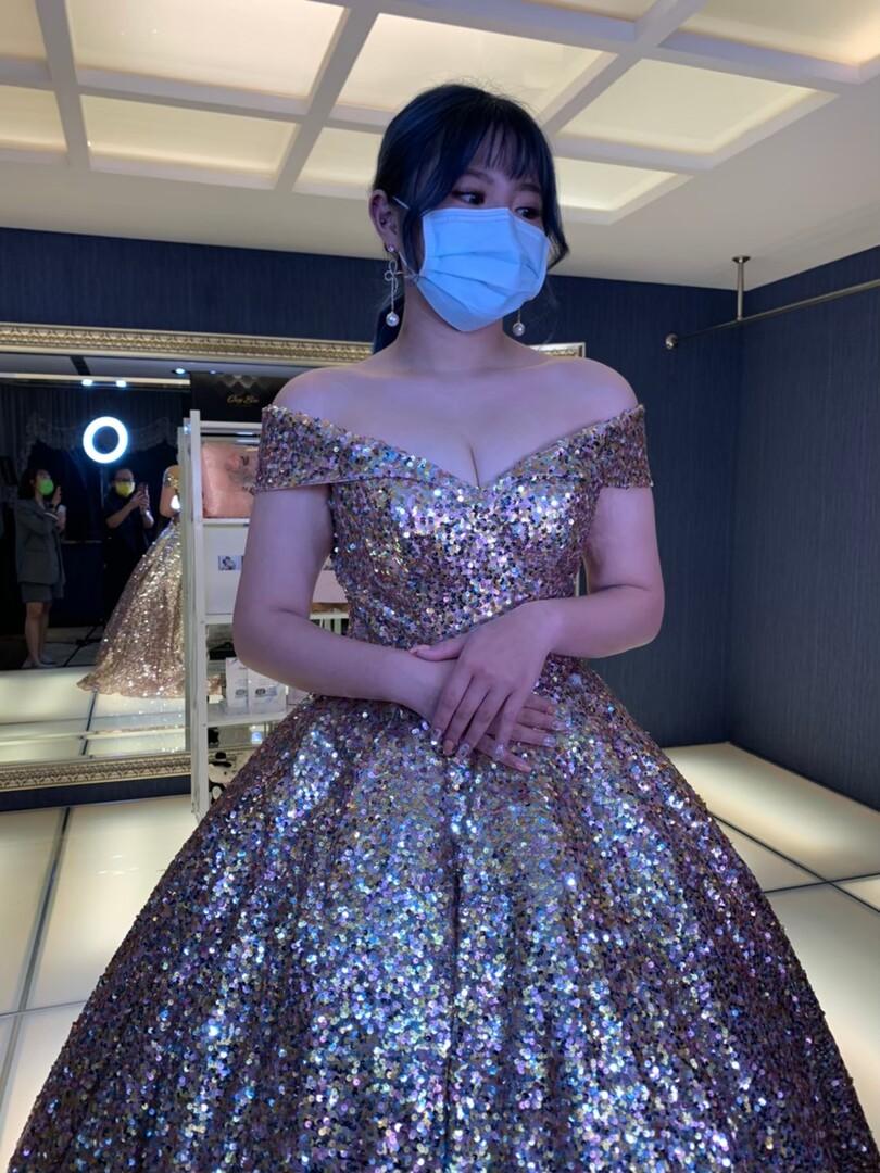 新竹法國巴黎 中大尺碼婚紗 3