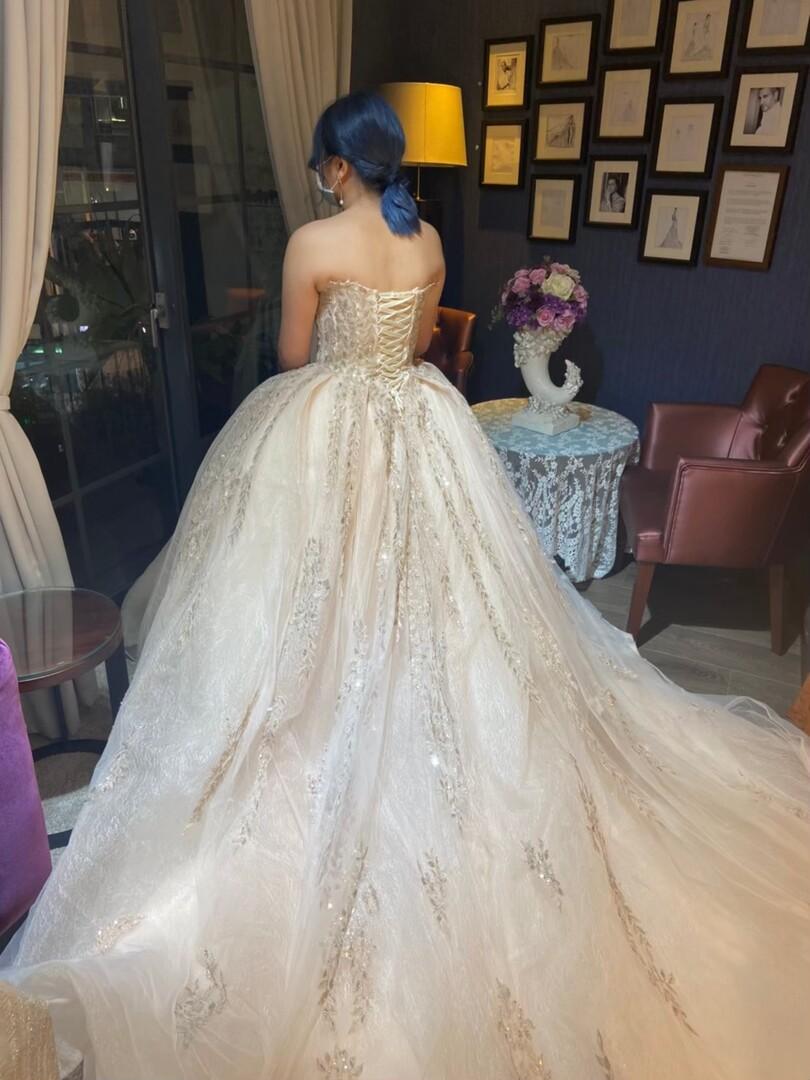 新竹法國巴黎 中大尺碼婚紗 5