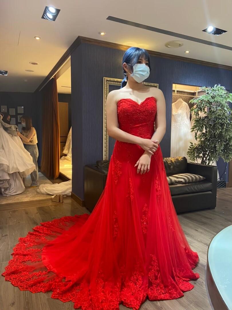 新竹法國巴黎 中大尺碼婚紗 7