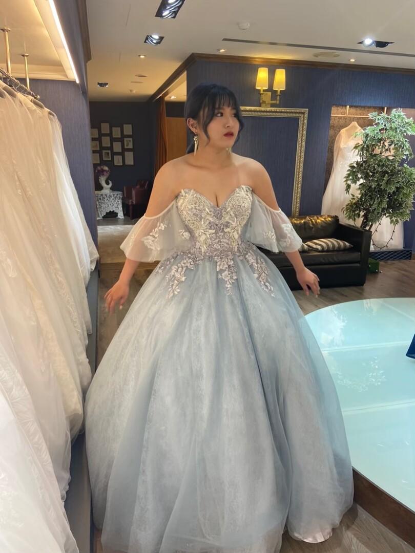 新竹法國巴黎 中大尺碼婚紗 9